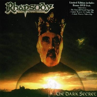 Rhapsody - The Dark Secret (CD + DVD Digipack)