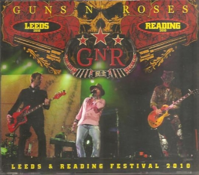 Guns N Roses - Leeds & Reading Festival 2010 (Bootleg 2 CD + DVD Importado)