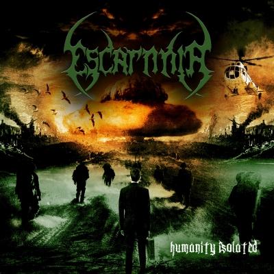 Escarnnia - Humanity Isolated (Slipcase com relevo + Adesivo)
