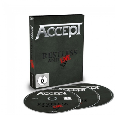 Accept - Restless And Live DVD + 2 CD's
