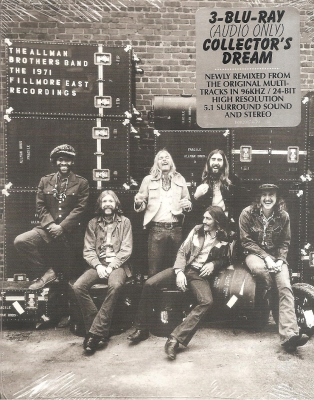 Allman Brothers Band - The 1971 Filmore East Recordings (3 Blu-Ray Digipack)