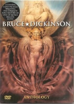 Bruce Dickinson - Anthology (3 DVD's  Importado Slipcase)