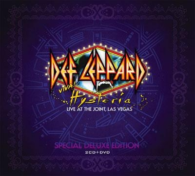 Def Leppard - Viva Hysteria ! Live At The Joint, Las Vegas (2 Cd's + Blu Ray Importado)