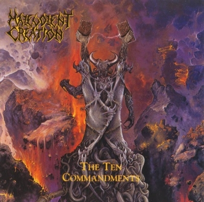 Malevolent Creation - The Ten Commandments (Importado Digipack)