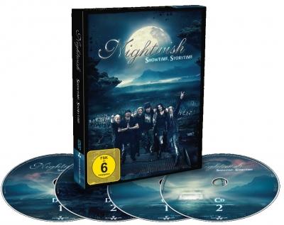 Nightwish - Showtime Storytime (2 Blu-Ray + 2 Cd's Digibook Importado)