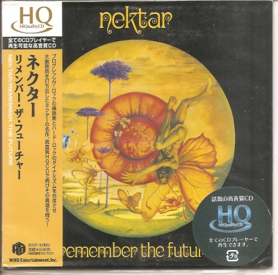 Nektar - Remember The Future (CD Edição Japonesa Mini LP com OBI)