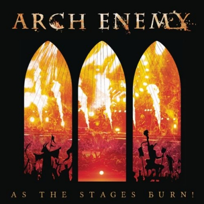 Arch Enemy - AS THE STAGES LIVE (CD + DVD Slipcase)