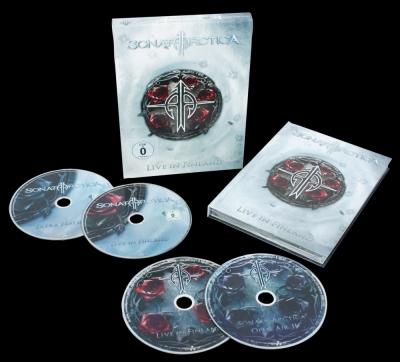 Sonata Arctica - Live in Finland (BOX SET 2 CD's + 2 DVD's Importado)