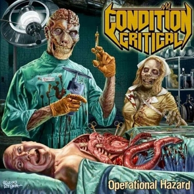 Condition Critical - Operational Hazard (Digipack)