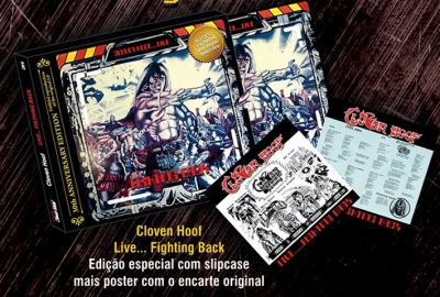 Cloven Hoof - Fighting Back (Slipcase Deluxe Edition Com Poster)