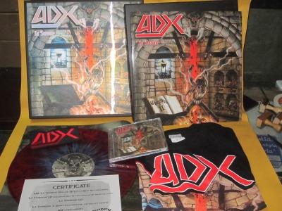 ADX - La Terreur (Box Set Importado)