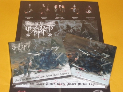 Great Vast Forest - From the Dark Times to the Black Metal Legions (Digipack + Poster)