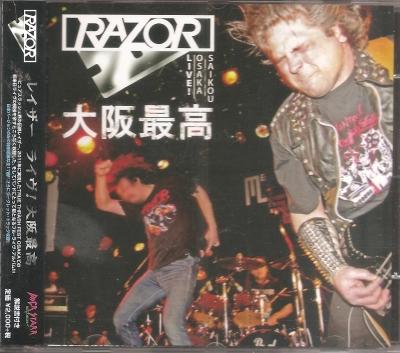 Razor - Live (Edição Japonesa com OBI)