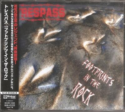 Trespass - Footprints in the Rock (Edição Japonesa com OBI)