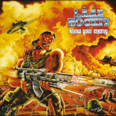 Laaz Rockit - Know Your Enemy (CD + DVD)