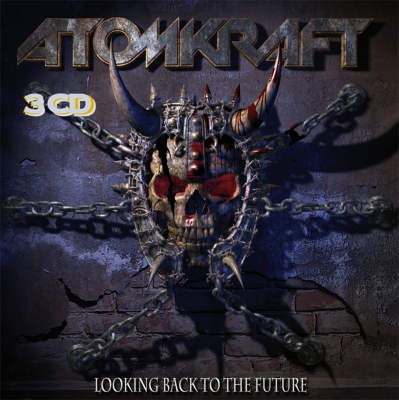 Atomkraft - Looking Back to the Future (CD Triplo Importado Digifile)