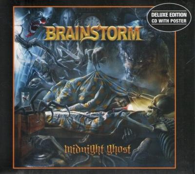 Brainstorm - Midnight Ghost ( slipcase e pôster)