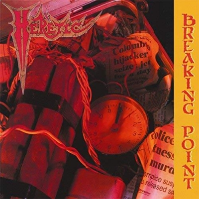 Heretic - Breaking Point/Torture Knows No Boundary ( Edição especial com slipcase)