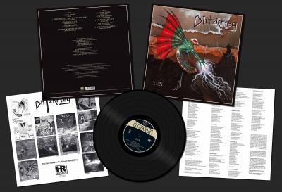 Blitzkrieg - Ten  (LP Importado)