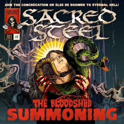 Sacred Steel (GER) - The Bloodshed Summoning (Importado)