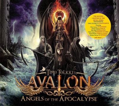 Timo Tolkki's Avalon - Angels Of The Apocalypse ( Digipack Importado)