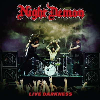 Night Demon - Live Darkness ( CD duplo, Digipack, Importado)
