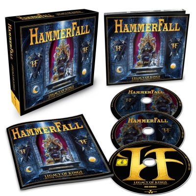 Hammerfall - Legacy of Kings: 20 Year Anniversary Edition - (BOX CD DUPLO + DVD)