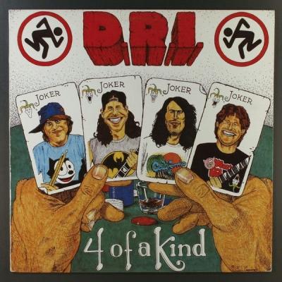 D.R.I. - 4 of a Kind ( Slipcase)