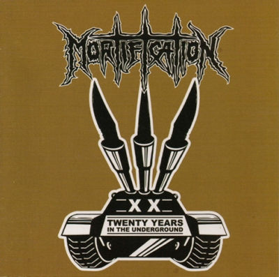 Mortification - Twenty Years In The Underground ( CD Duplo Importado)