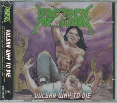 Dreaded Mortuary - Vulgar way to die (Edição japonesa com Obi e lacrado)