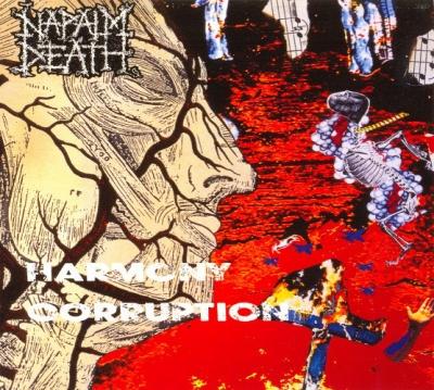Napalm Death - Harmony Corruption ( Importado)