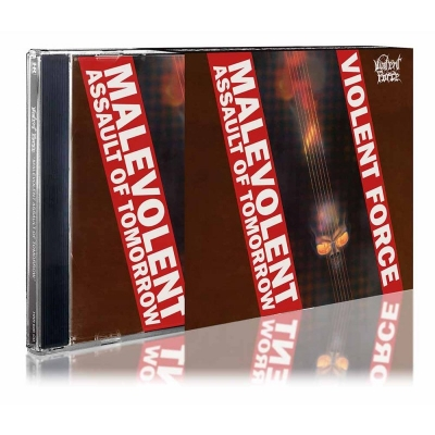 Violent Force - Malevolent Assault of Tomorrow ( Importado com Slipcase)