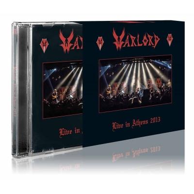 Warlord - Live in Athens 2013 ( CD Duplo Importado)