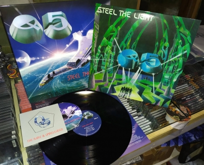 Q5 - Steel The Light ( LP Importado)