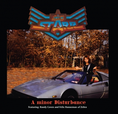 Jack Starr - A Minor Disturbance ( Importado)