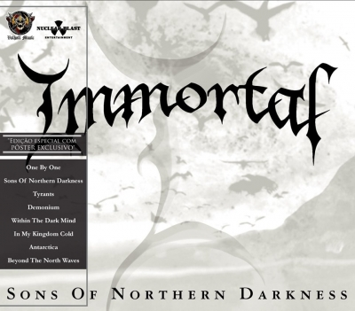 Immortal - Sons Of Northern Darkness ( Slipcase e poster)