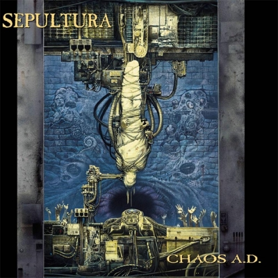 Sepultura - Chaos A.D. ( Expanded Edition , Digifile , Duplo)