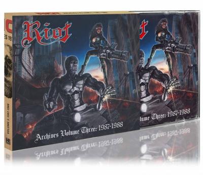 Riot - Archives Volume 3 - 1987-1988  (CD e DVD, Slipcase Importado)