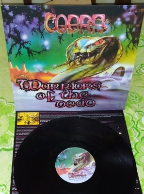 Cobra - Warriors Of The Dead ( LP Importado)