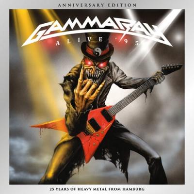 Gamma Ray - Alive 95 (25TH Anniversary Edition - CD Duplo )