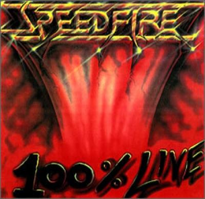 Speedfire - 100 percent Live ( CD e DVD Importado)