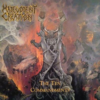 Malevolent Creation - The Ten Commandments ( CD Duplo)