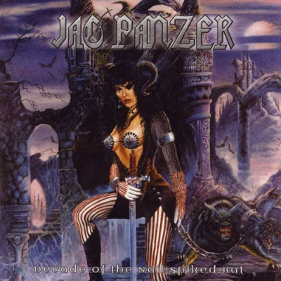 Jag Panzer - Decade of the Nail Spiked Bat (CD duplo Com Slipcase)