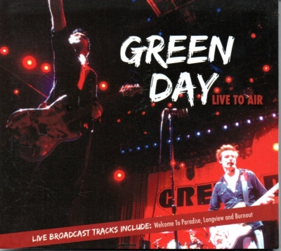 Green Day - Live To Air (Digipack)