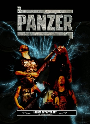 Panzer (BR) - Louder Day After Day  (CD e DVD)