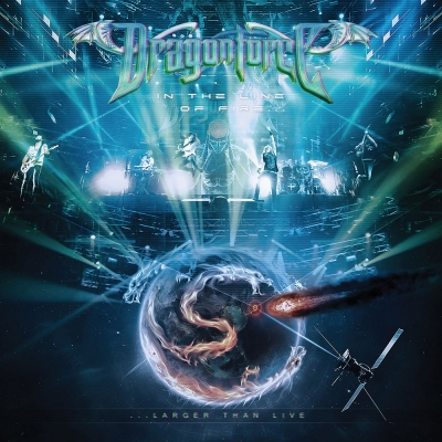 Dragonforce - In the Line of Fire (CD e DVD)