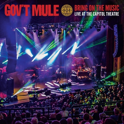 Gov t Mule - Bring on The Music - Live At the Capitol (2CDs + 2 DVDs Digipack)
