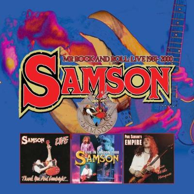 Samson - Mr. Rock and roll Live 1981- 2000 ( Box 4 CDs Importado)