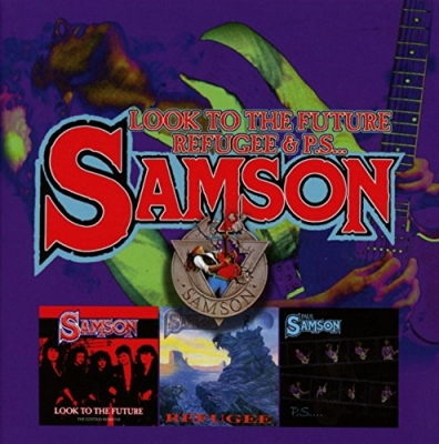 Samson - Look To The Future /Refugee/PS ( Box 3 CDs Importado)