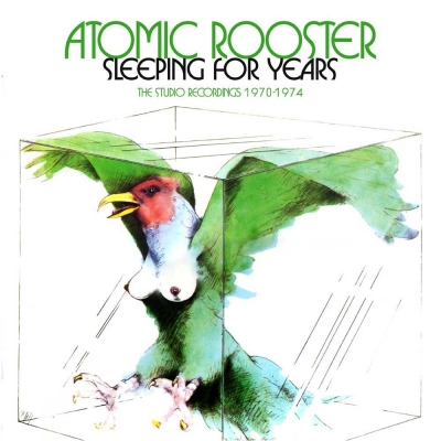 Atomic Rooster - Sleeping For Years - The Studio Recordings 1970 -1974 (Box 4 CDs Importado)